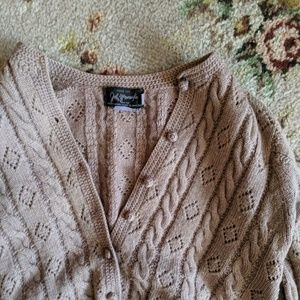 Vintage purple wool sweater